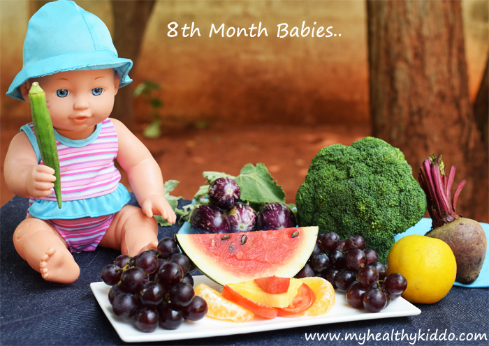 Food for 8th Month Babies