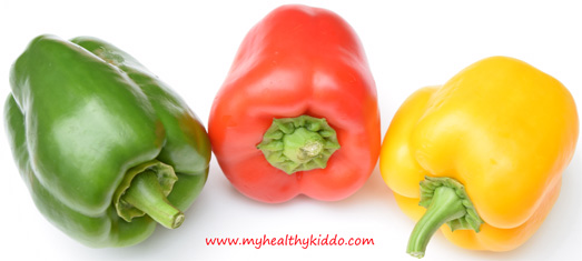 Healthy Capsicums for Babies