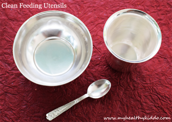How to Sterilize Feeding Utensils