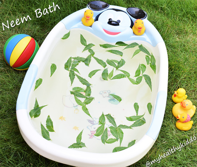 Natural Neem bath for Kids-1