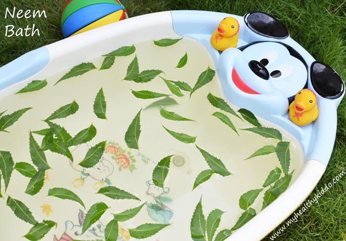 Natural Neem bath for Kids-2