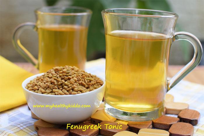 Fenugreek Tonic for Feeding Moms