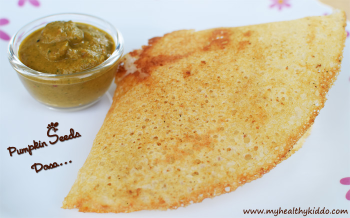 Healthy Pumpkin Seeds Dosa Recipe-1