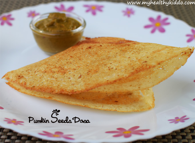 Healthy Pumpkin Seeds Dosa Recipe-4