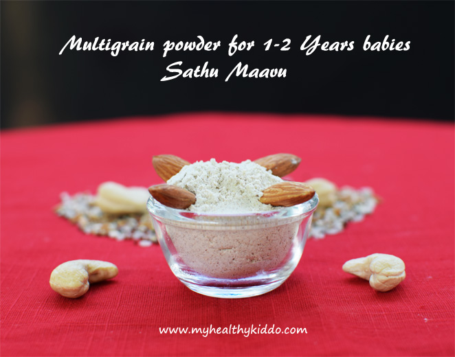 Homemade Sathu Maavu Recipe for Babies-2