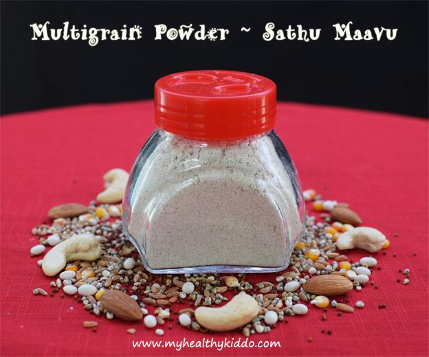 Homemade kids Sathu Maavu Recipe -1