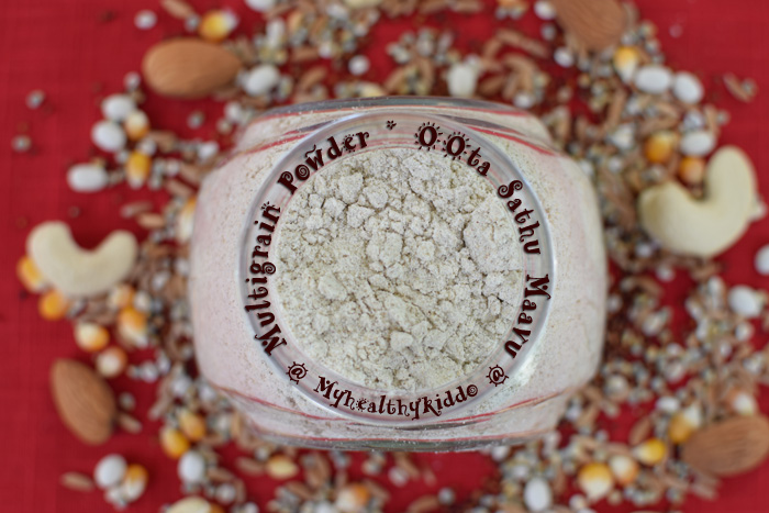 Homemade kids Sathu Maavu Recipe-2