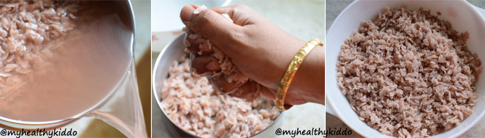 How to make Red Aval Upma Step-4