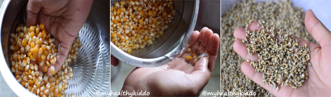 How to make Sathu Maavu Step-5