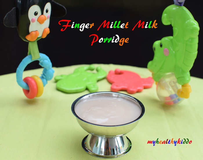Finger Millet Milk Porridge 1