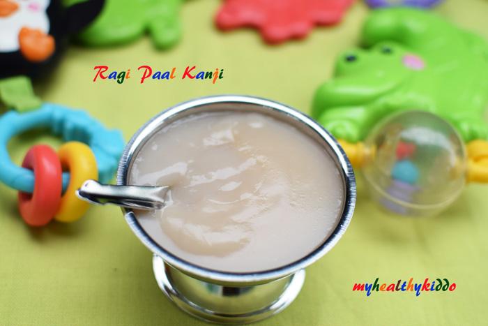 Finger Millet Milk Porridge 3
