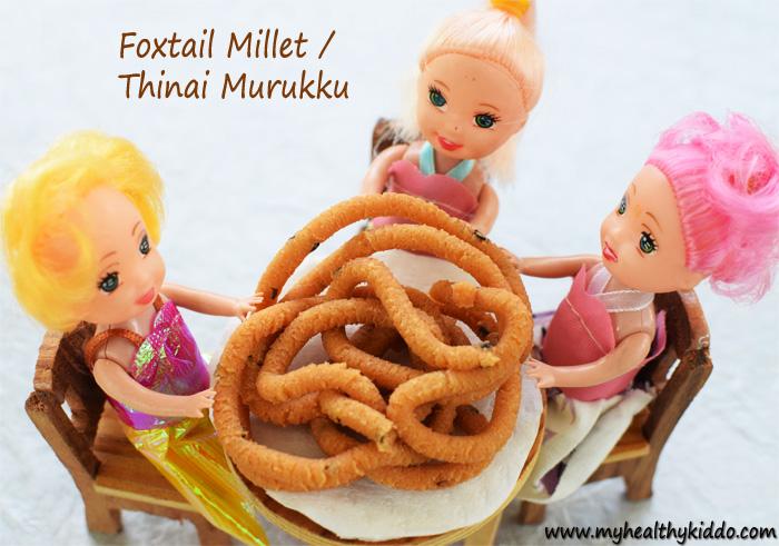 Foxtail Millet Thinai Murukku-3