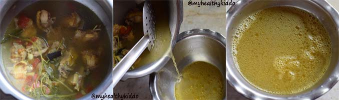 How to make chicken soup for babies-6