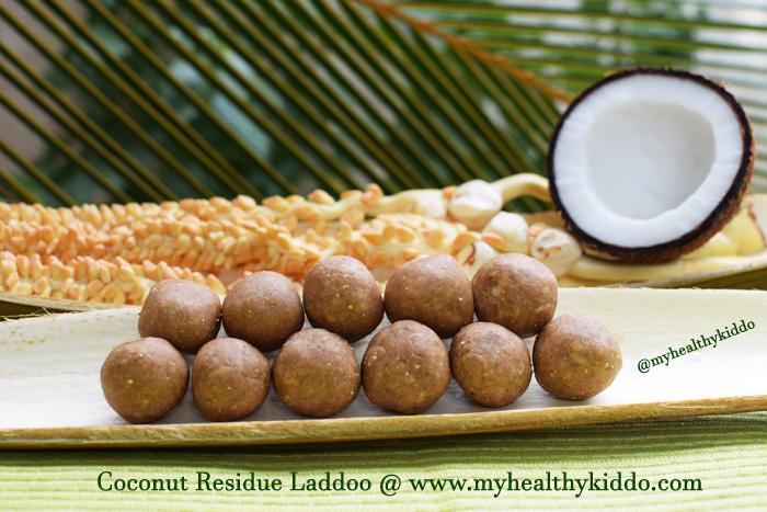 Coconut Residue Laddoo-1