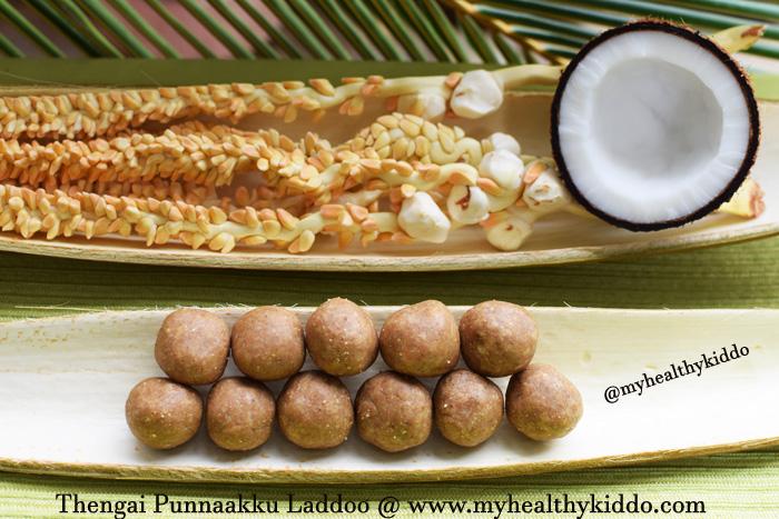 Coconut Residue Laddoo-2