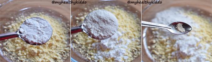 How to make Oregano bajji step-2