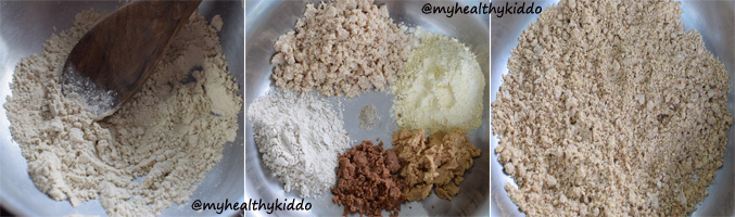 How to make coconut residue laddoo step-4