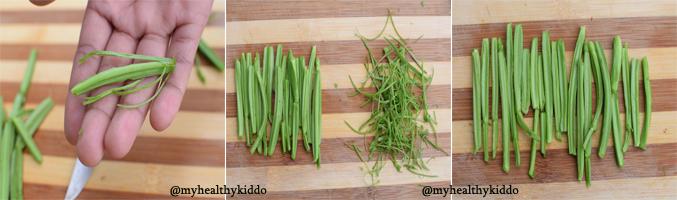 How to make pirandai chutney step-2