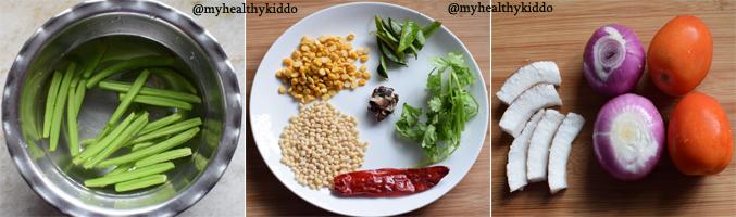 How to make pirandai chutney step-3