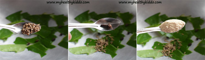 Betel leaves Vetrilai kashayam for cold and cough-2