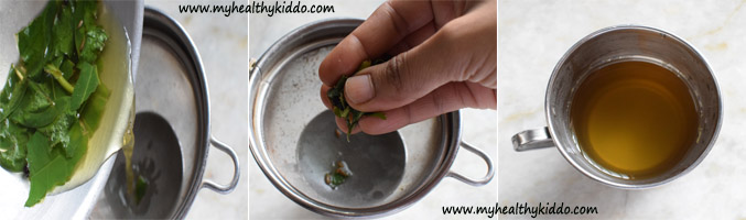 Betel leaves Vetrilai kashayam for cold and cough-4