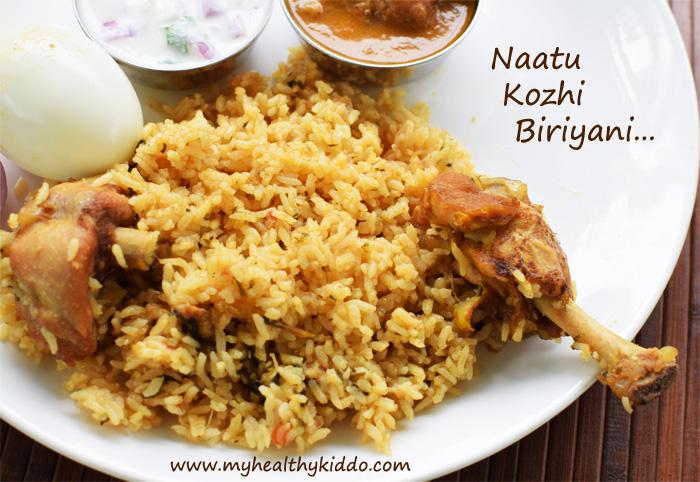Chicken Naatu Kozhi Biriyani-1