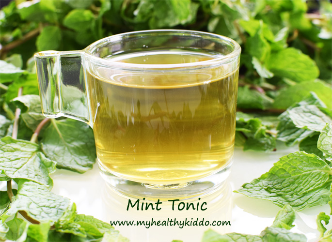Homemade Mint Tonic 3
