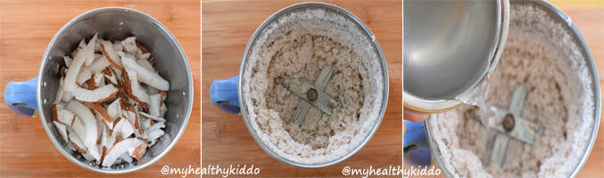 Homemade cold remedy with coconut milk step-2
