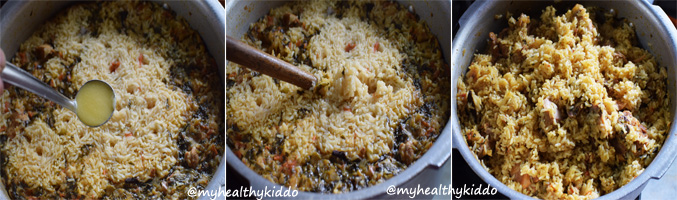 How to make Naatu Kozhi Chicken Biriyani Step-14