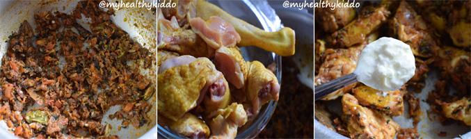 How to make Naatu Kozhi Chicken Biriyani Step-8