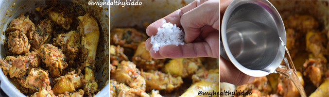 How to make Naatu Kozhi Chicken Biriyani Step-9