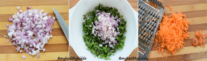 How to make Vallaarai Keerai Salad step 4
