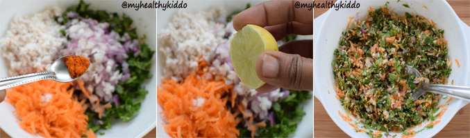 How to make Vallaarai Keerai Salad step 7