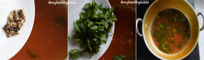 How to make tomato rasam for babies step-6