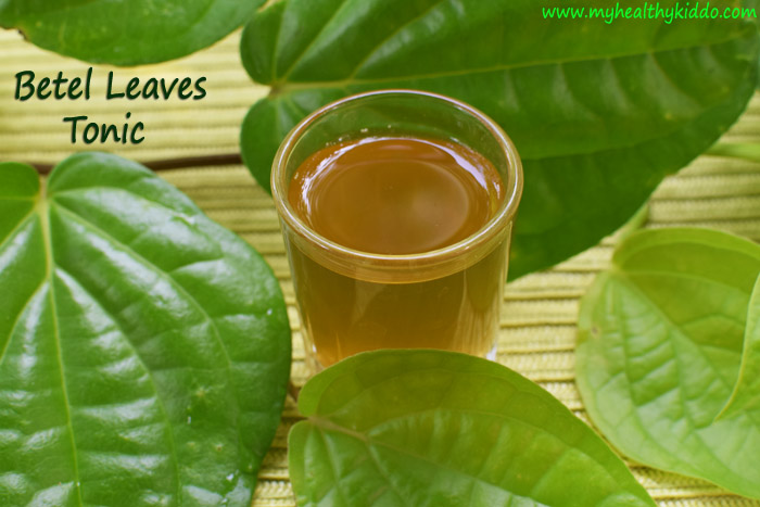 Natural cold and cough remedy with Betel leaves-3