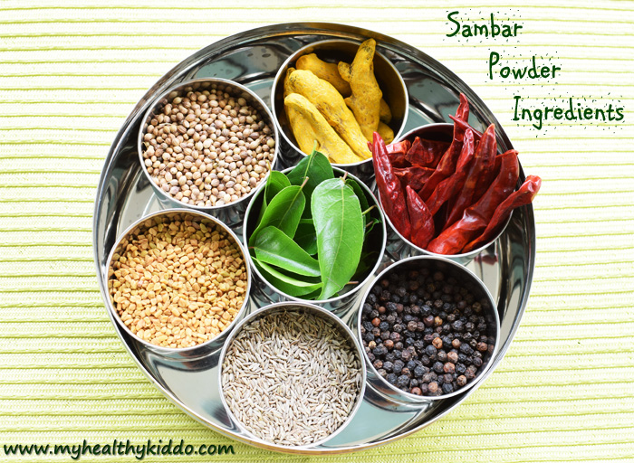 Sambar Powder Ingredients