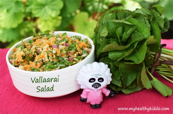 Vallaarai Keerai Salad-3