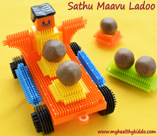 Health Mix Laddoo-2