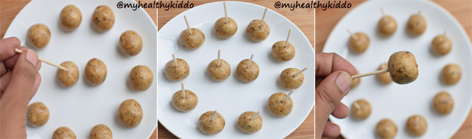 How to make Nuts and dates Laddoo step-4