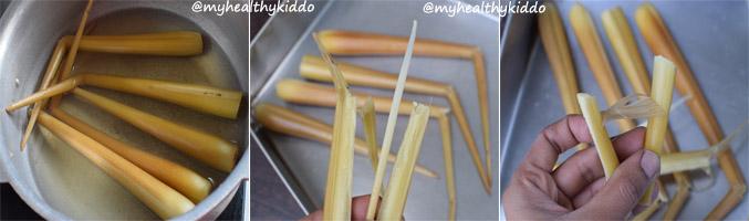 Panam Kilangu Ladoo Step-2