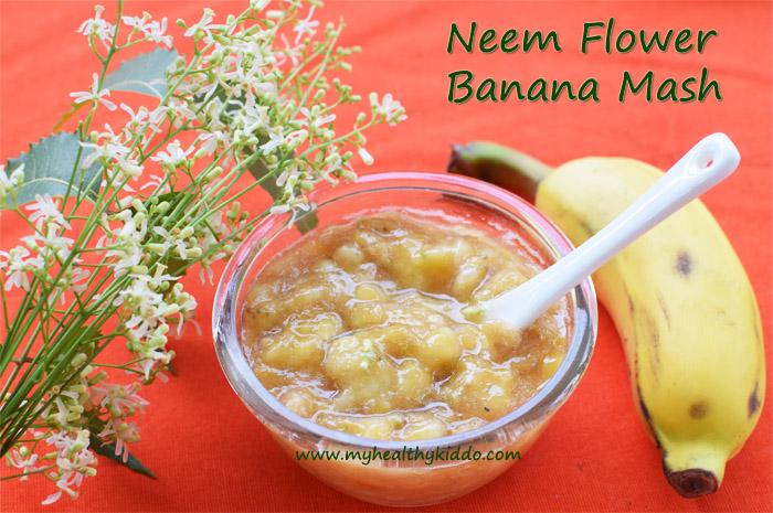 Neem Flower Banana Sweet Recipe-3