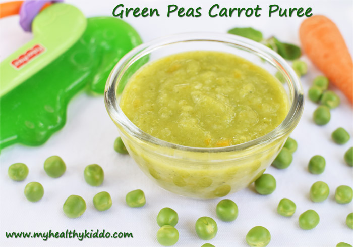 Green Peas Puree for babies-2