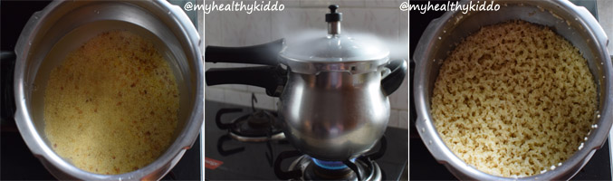 How to make Thinai Thengai paal payasam step-3