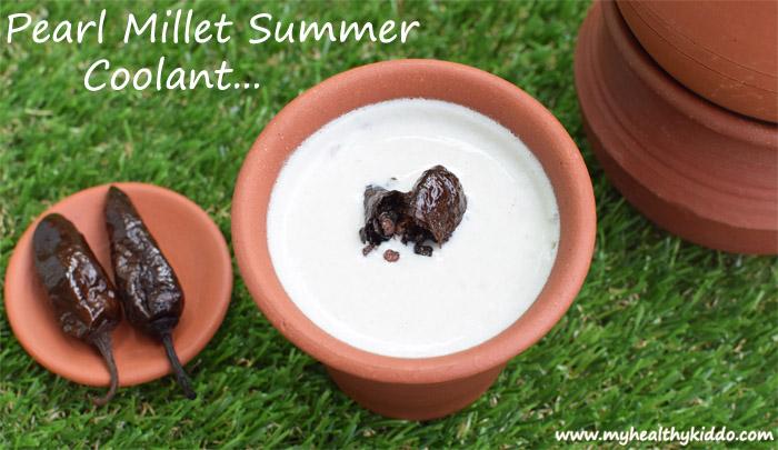 Pearl Millet Butter Milk Recipe - 4