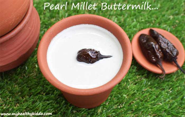 Pearl Millet ButterMilk Recipe-2