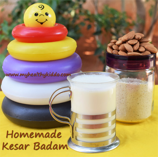 Homemade Badam Milk Powder 1