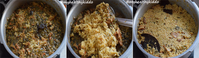 How to make Muslim Style Mutton Biriyani Step 14