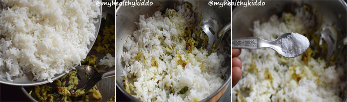 How to make Raw Mango Rice Step-5