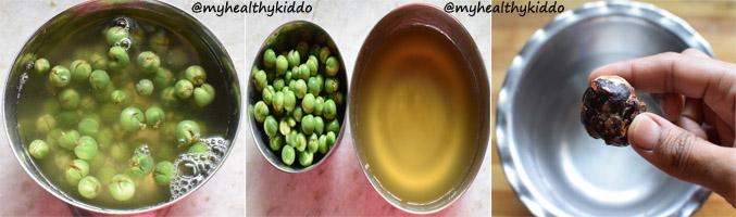 How to make Sundakkai puli kuzhambu Step 3