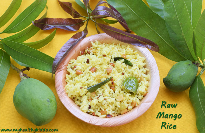 Raw Mango Rice Recipe-1
